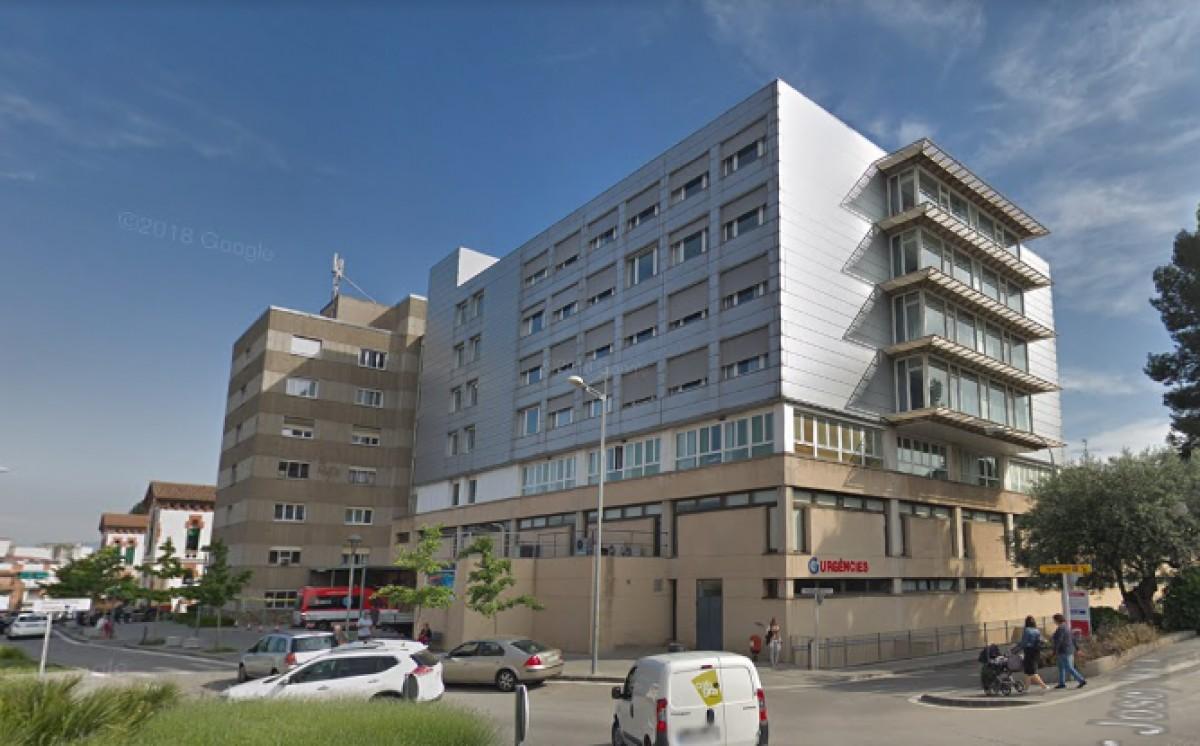 L'Hospital de Granollers, en una imatge d'arxiu