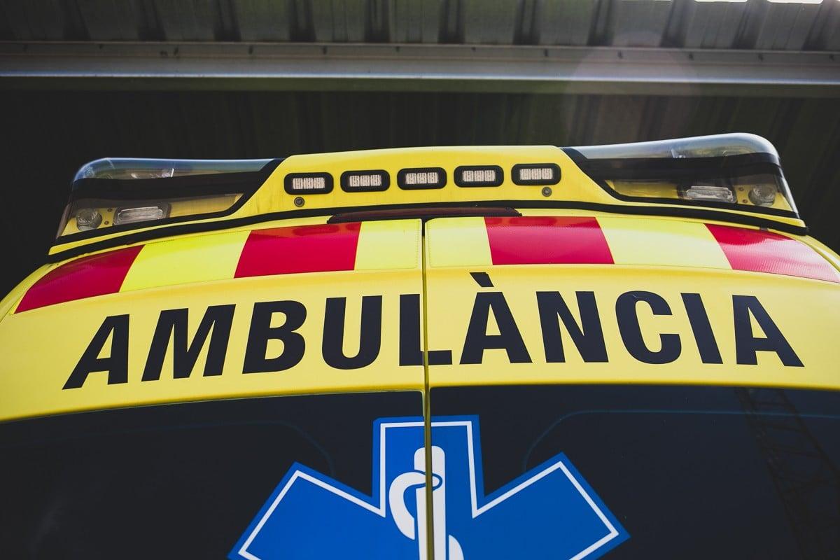 Una ambulància del SEM.