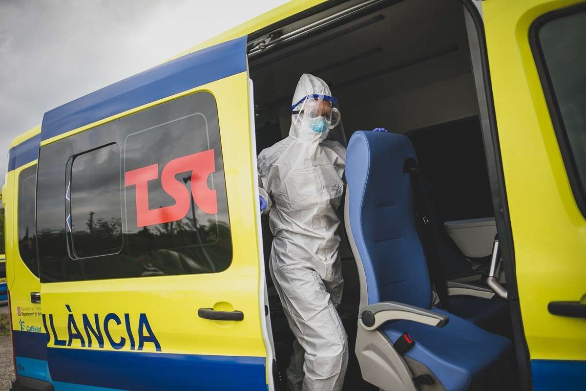 La pandèmia estava molt més descontrolada el març i abril que a l'actualitat.