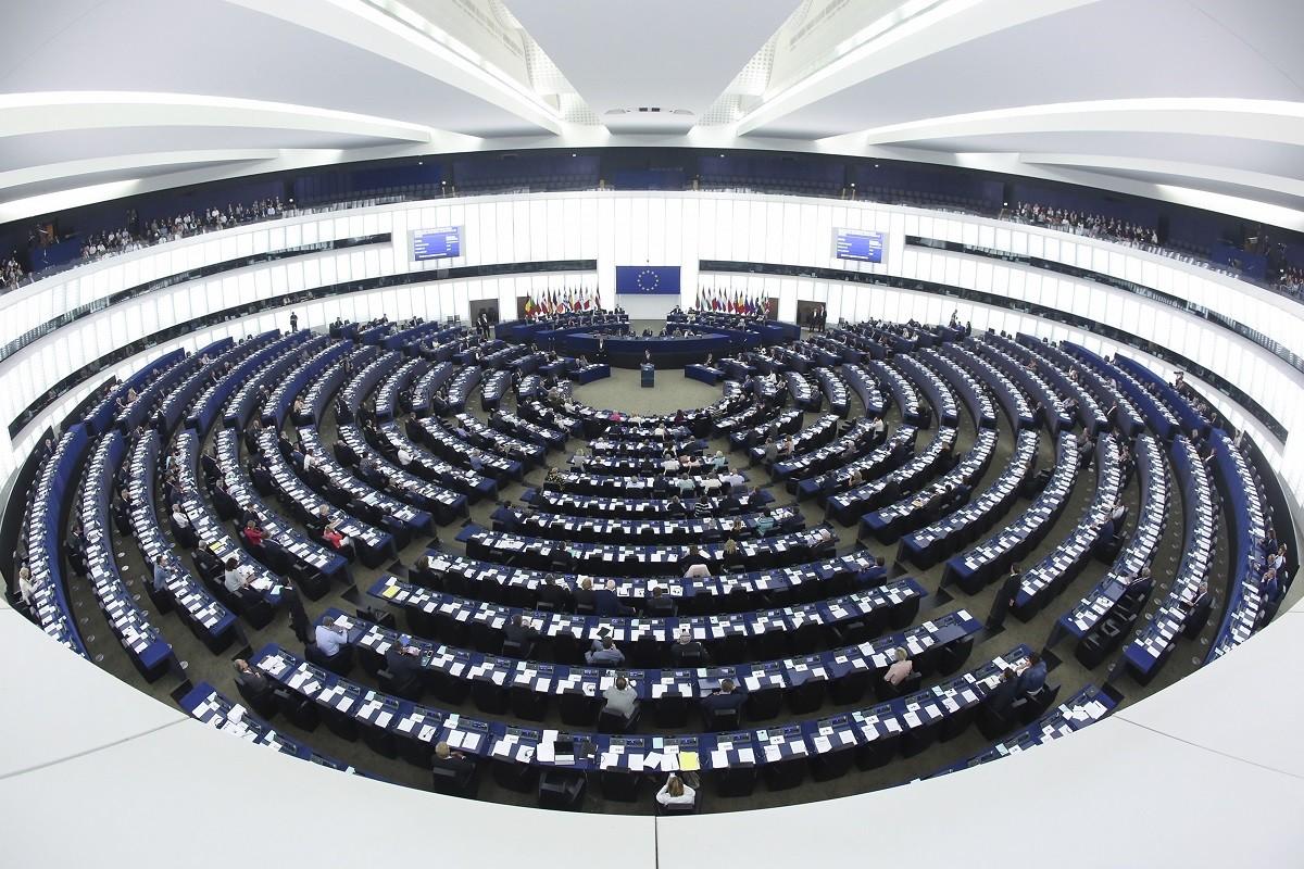 El Parlament Europeu, en una imatge d'arxiu