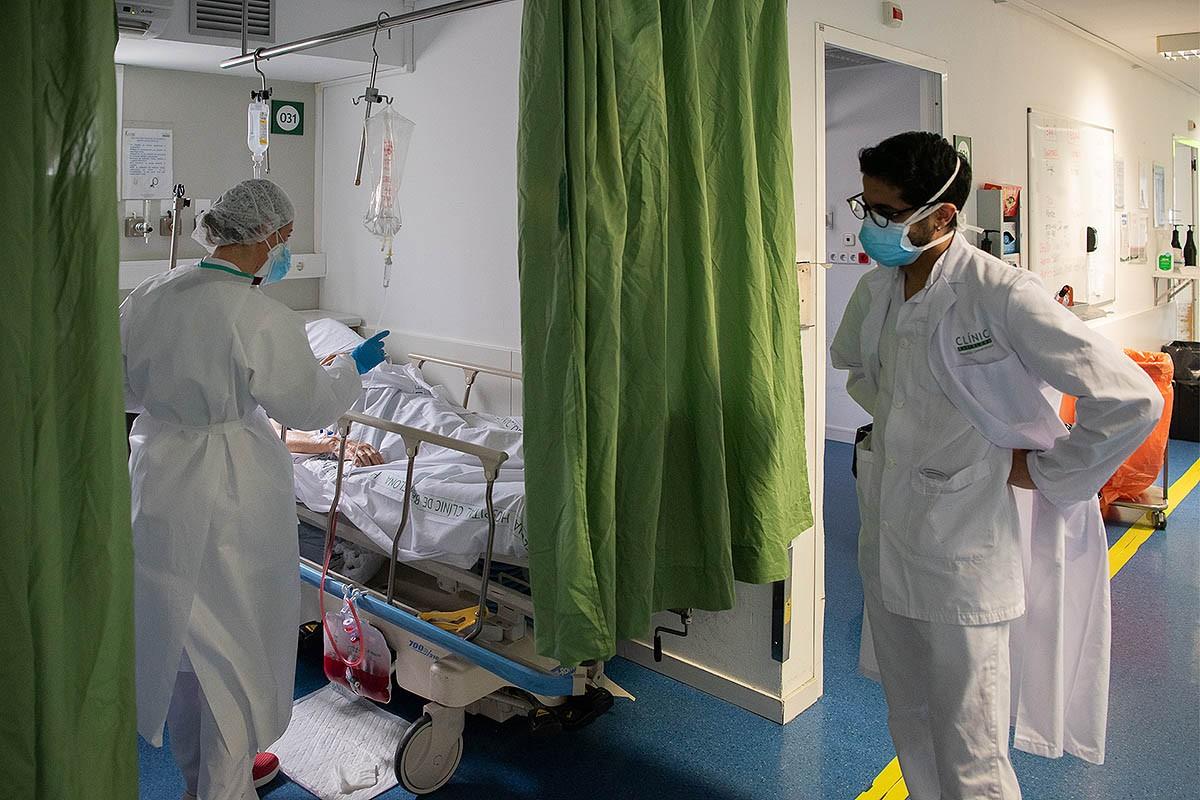 El primer cas es va detectar a l'Hospital Clínic
