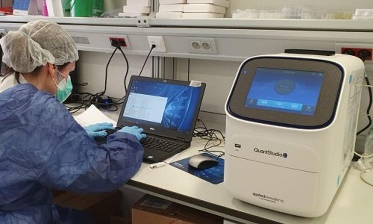 Aparell per realitzar proves PCR