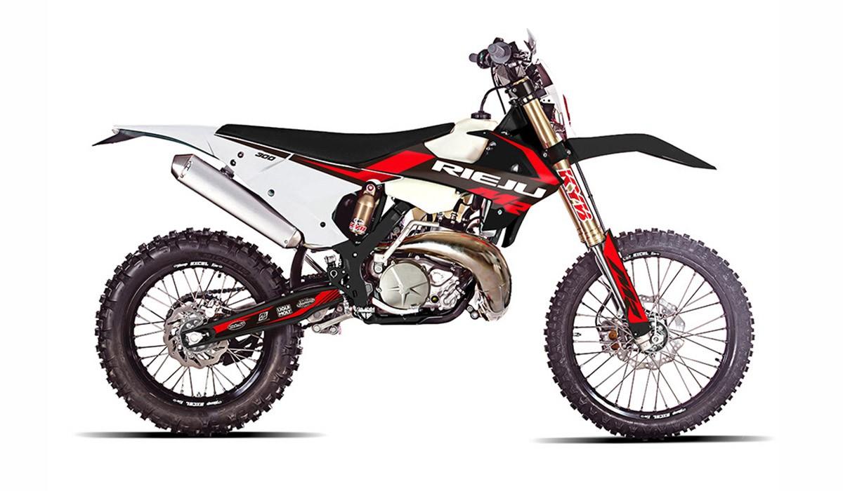 Sobre la base del que fou GasGas Rieju presenta la nova MR Racing 300cc
