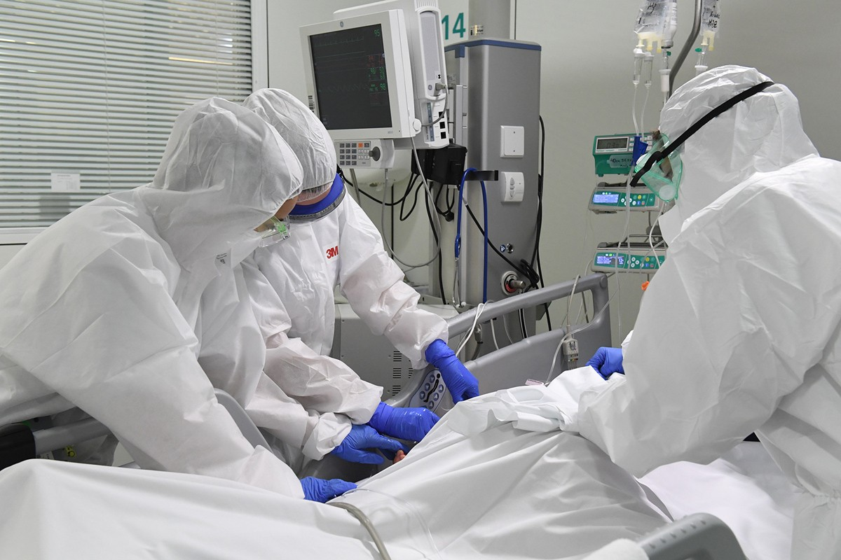 Una UCI durant la pandèmia