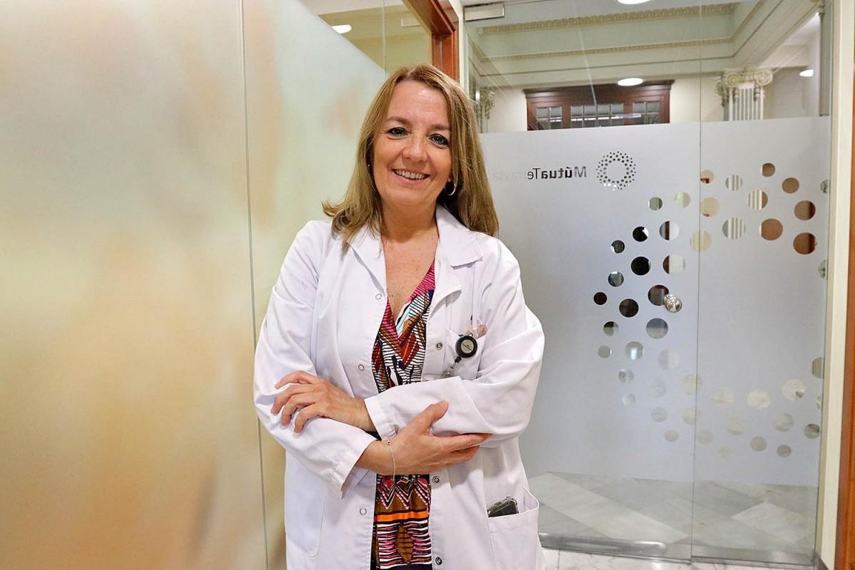 Teresa Clanchet, directora Assistencial de l'Àmbit Ambulatori de la Fundació Assistencial MútuaTerrassa.