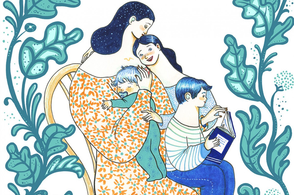 Ser mare soltera i optimista durant el confinament