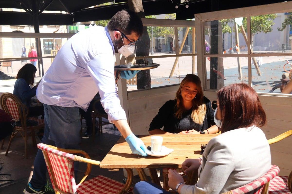 Un restaurant de Tarragona, a la fase 1 des de fa una setmana