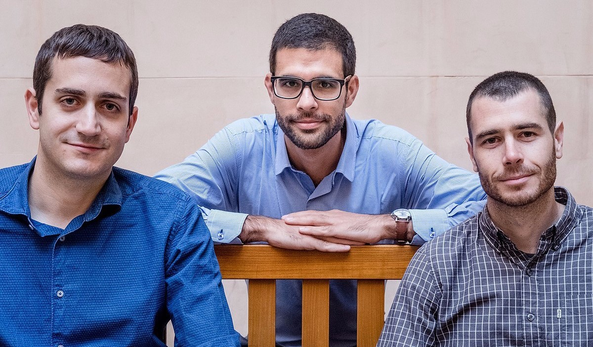 Marc Guinjoan, Marc Sanjaume i Toni Rodon, els politòlegs darrere d'El Pati Descobert.