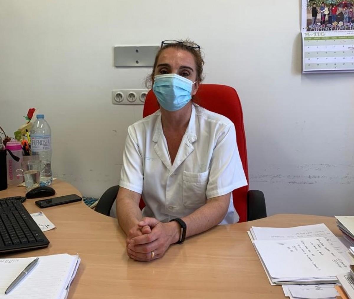 Joana Rodríguez, gerent en funcions de l'Hospital Sant Bernabé.