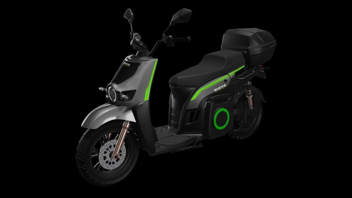 Silence 02LS un ciclomotor elèctric amb 100 km d'autonomia