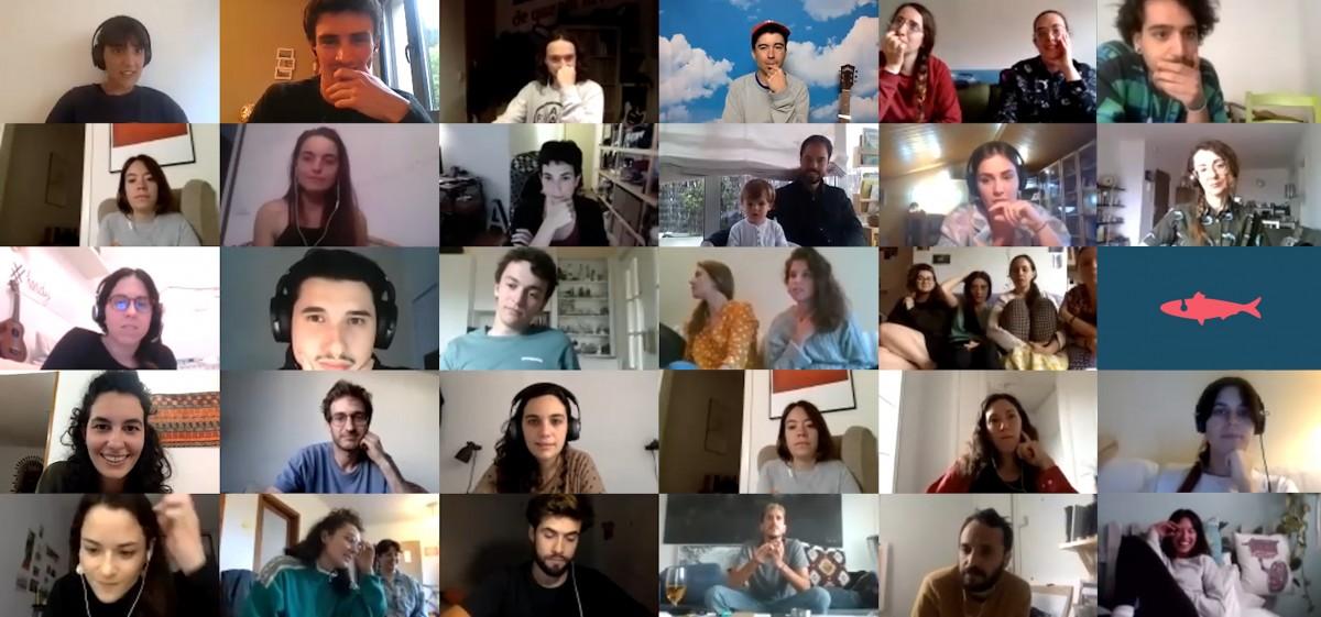 Videotrucada de la Sardina amb Ferran Palau