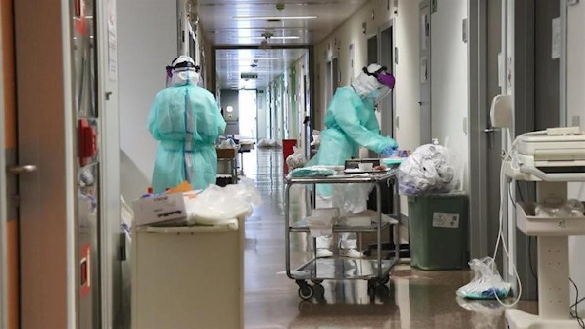 Sanitaris de l'Hospital La Fe de València