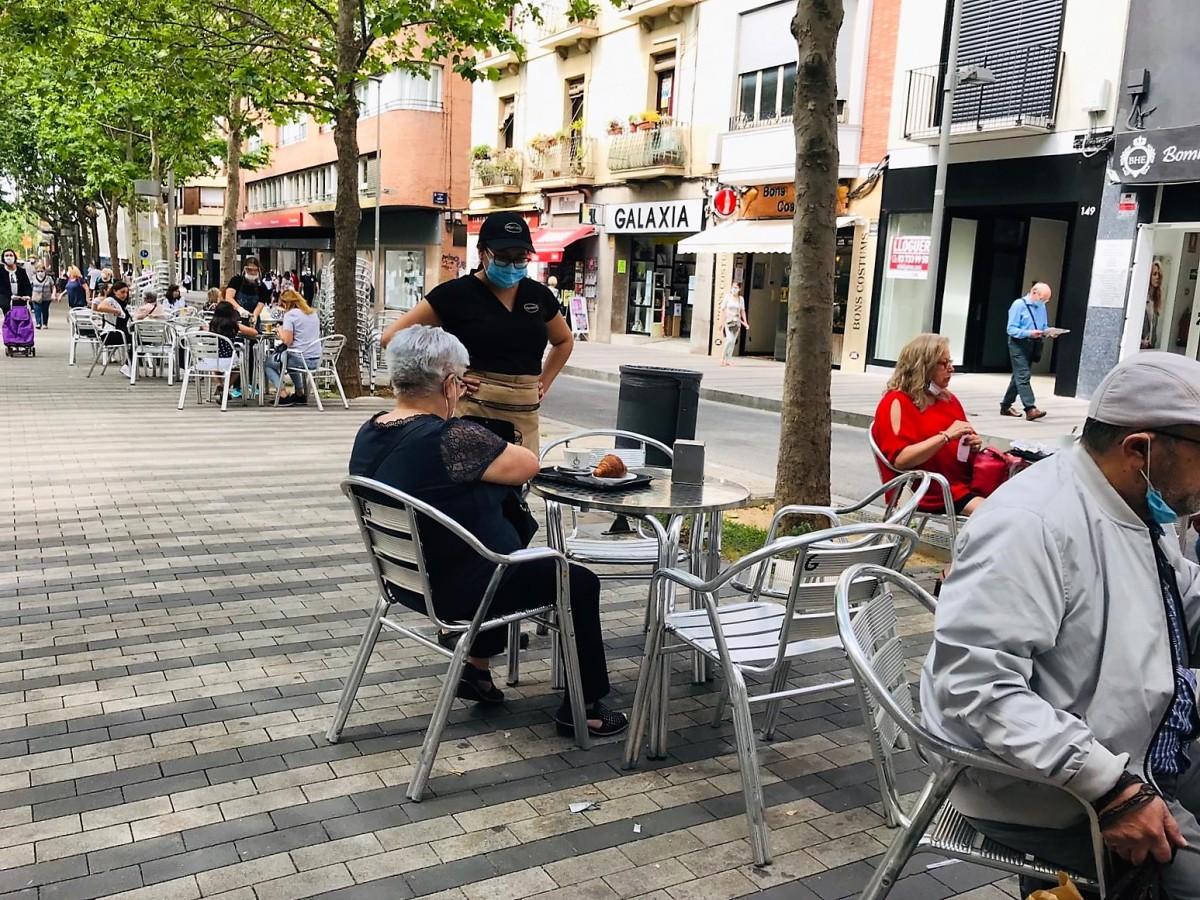El Govern preveu que el dia 9 de maig els bars i restaurants puguin obrir fins a les 11 de la nit.