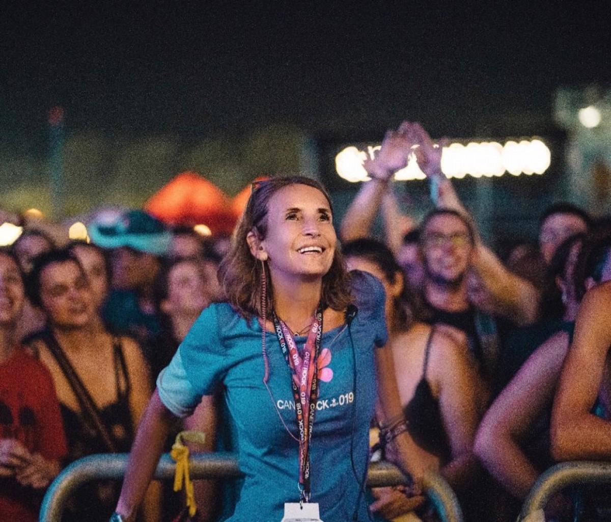 Gemma Recoder, directora del Canet Rock 2020
