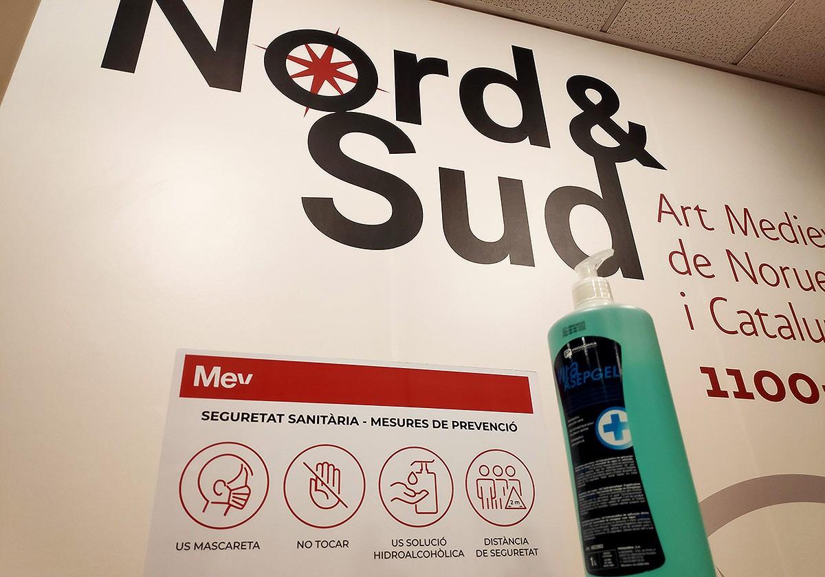 La mostra «Nord & Sud» es pot veure seguint estrictes mesures d'higiene i seguretat