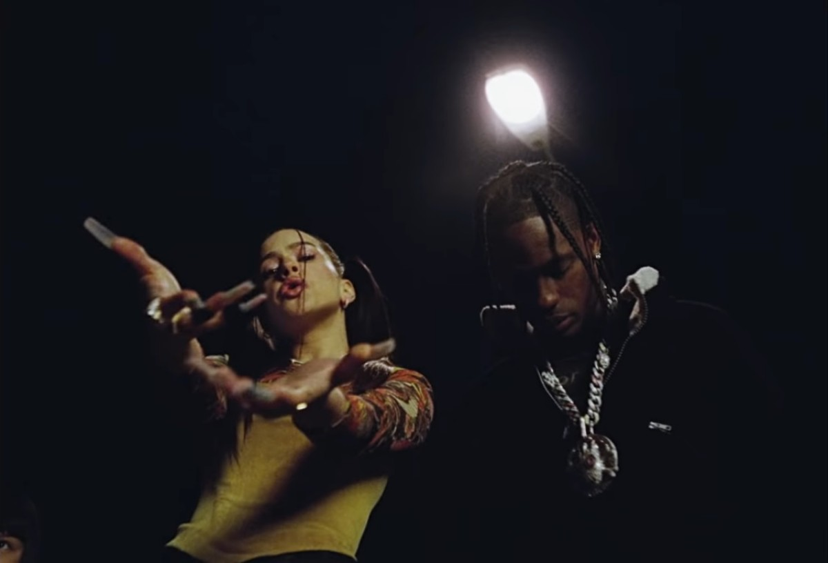 Rosalia i Travis Scott