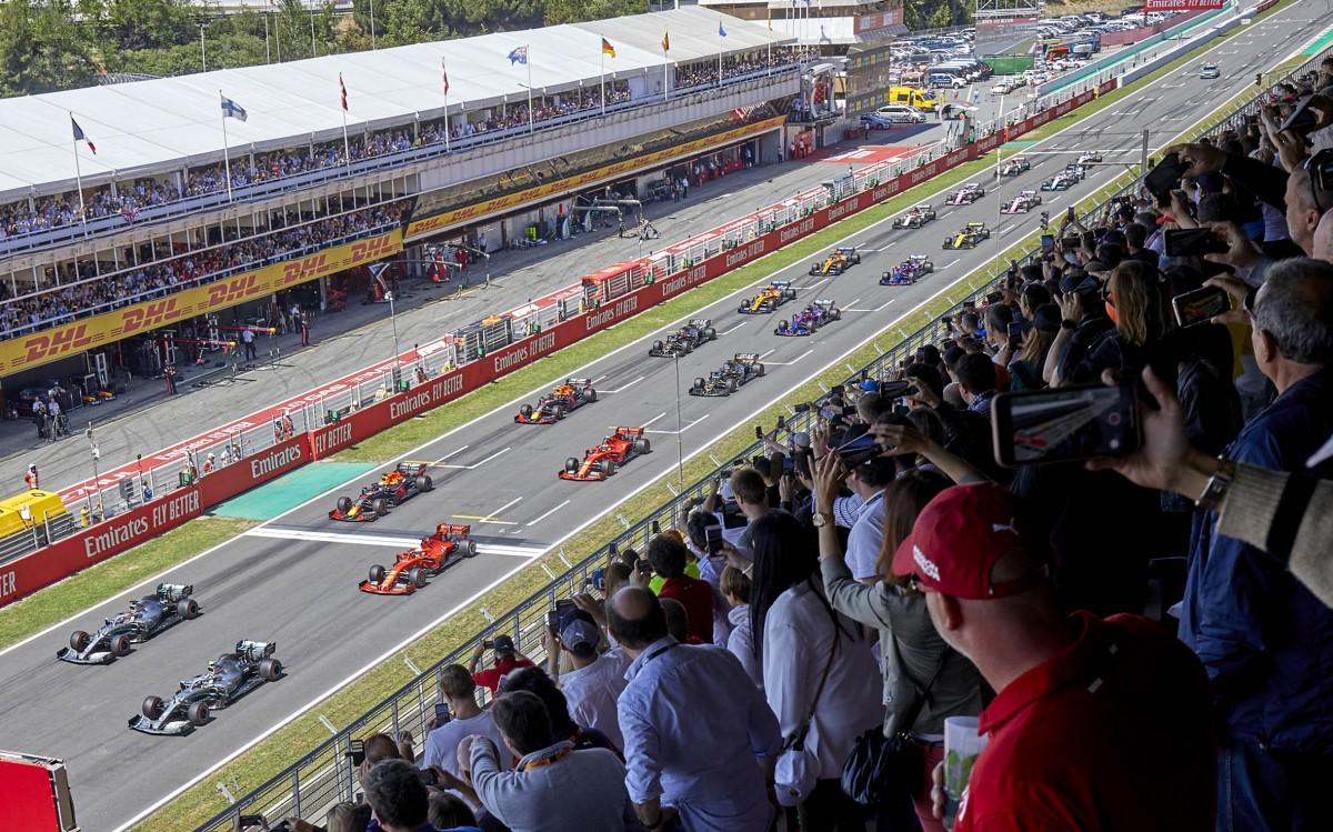 Un Gran Premi de Fórmula 1 al Circuit.