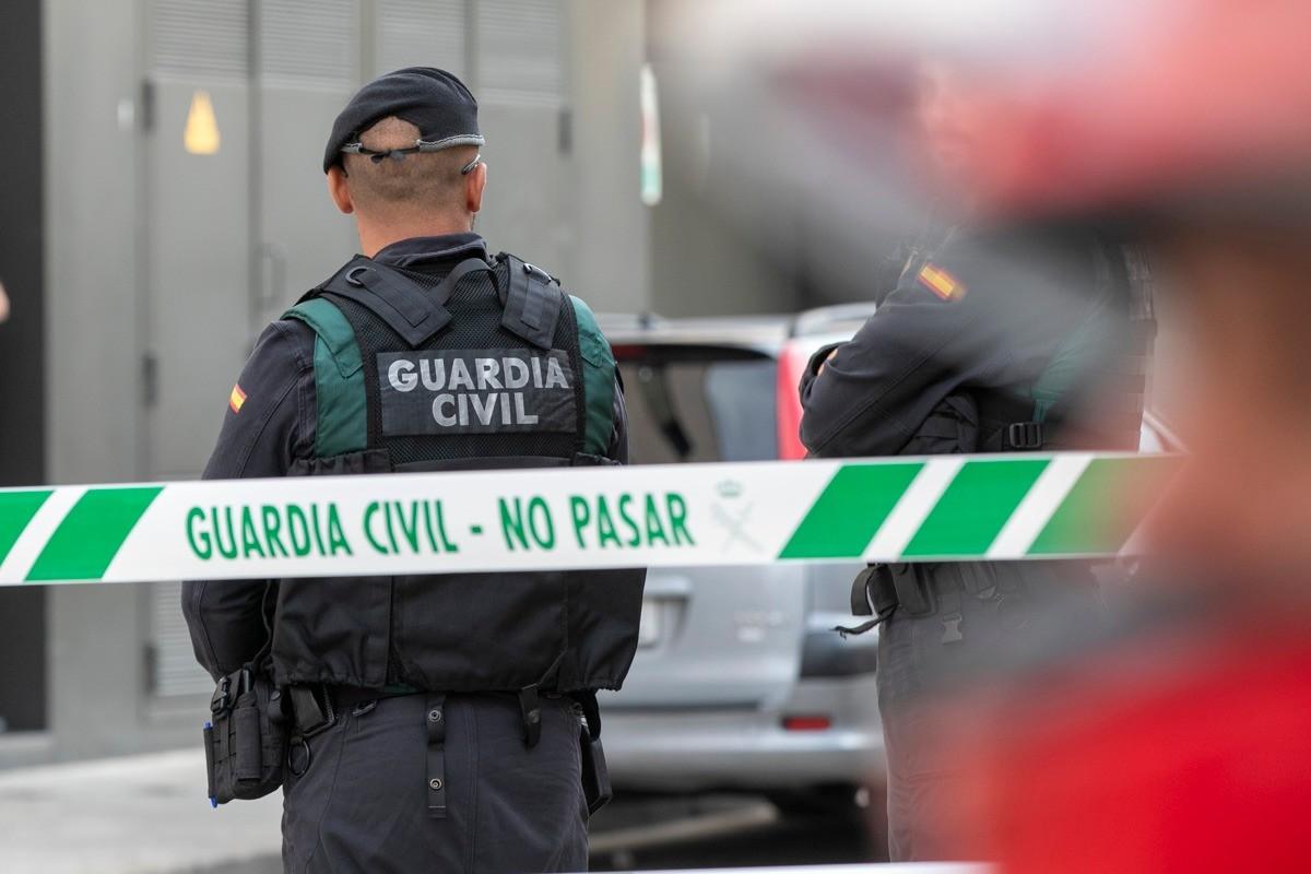 Operatiu de la Guàrdia Civil a la ciutat