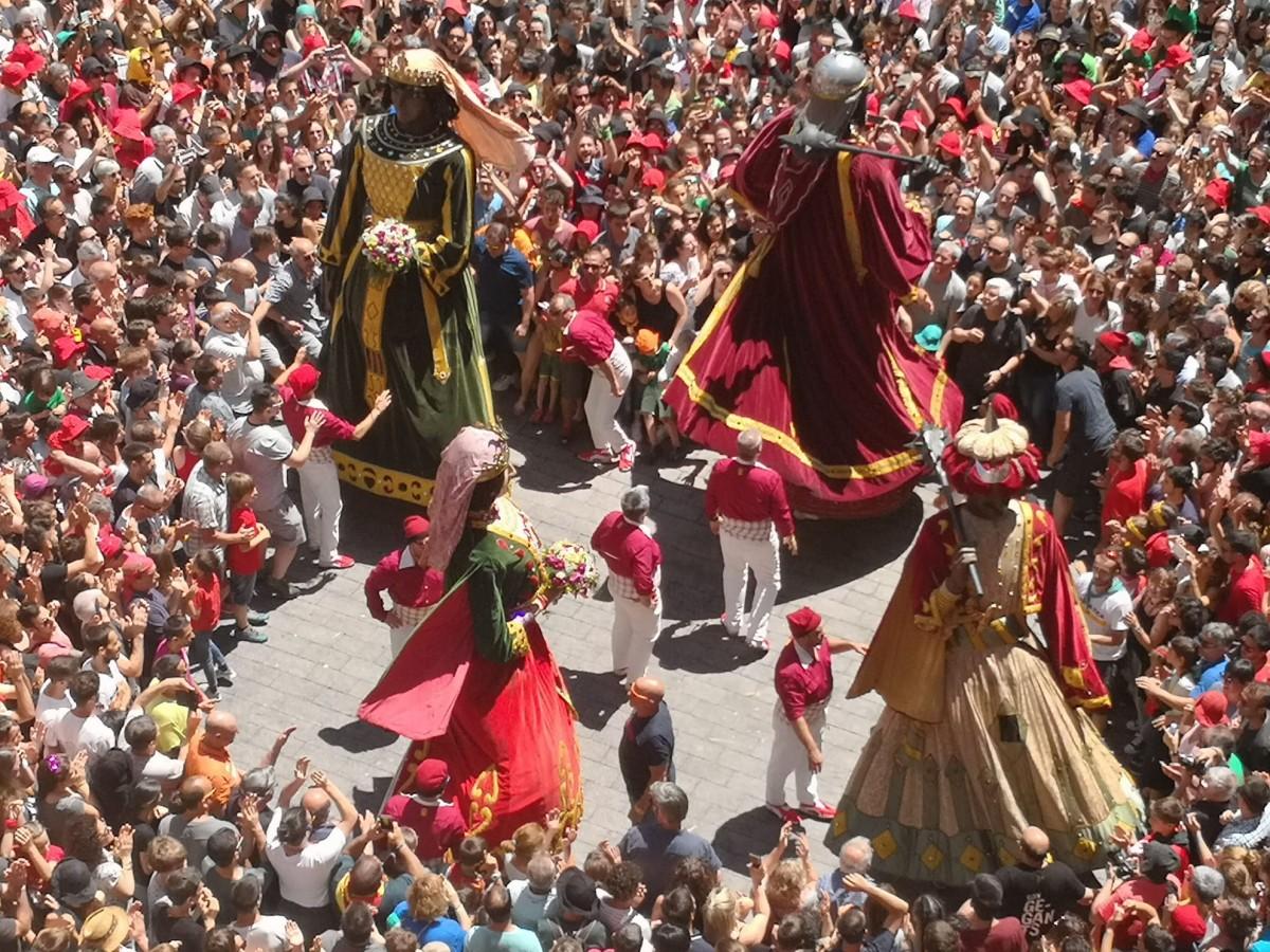 Imatge d'arxiu de la festa de la Patum de Berga.