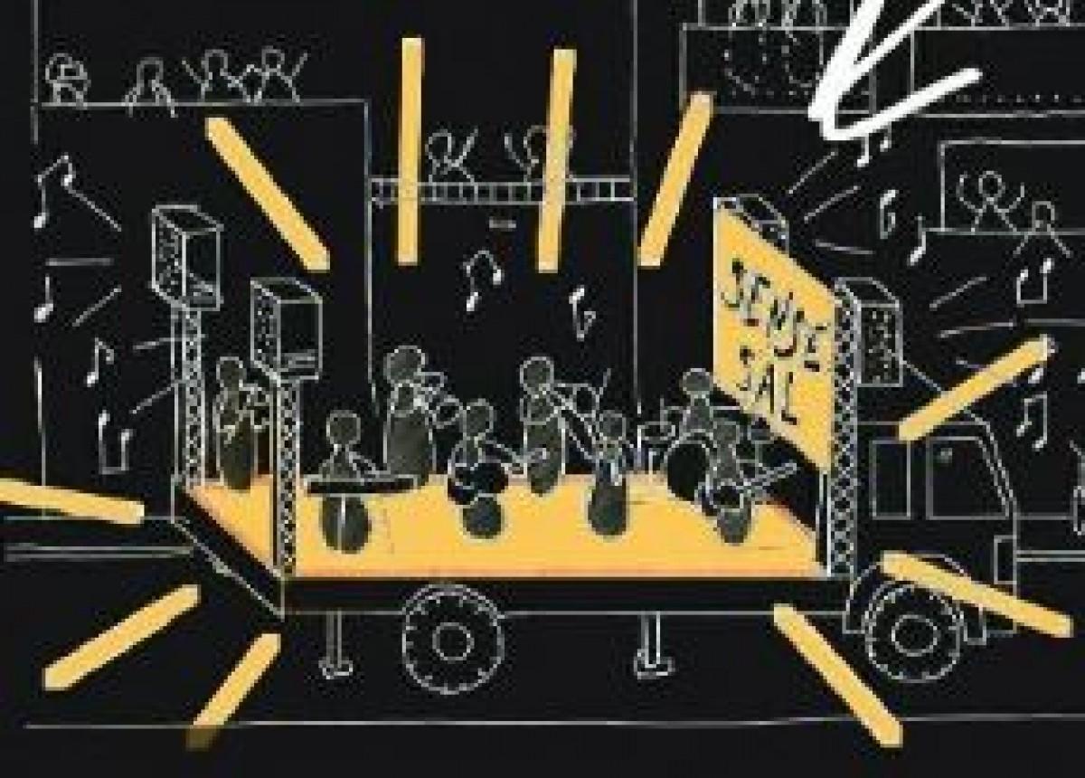 Els terrassencs proposen fer concerts sobre un vehicle en moviment.