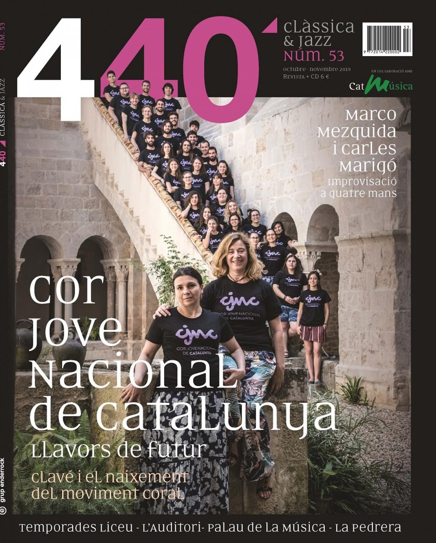 Portada de la revista 440 Clàssica & Jazz (núm. 53)