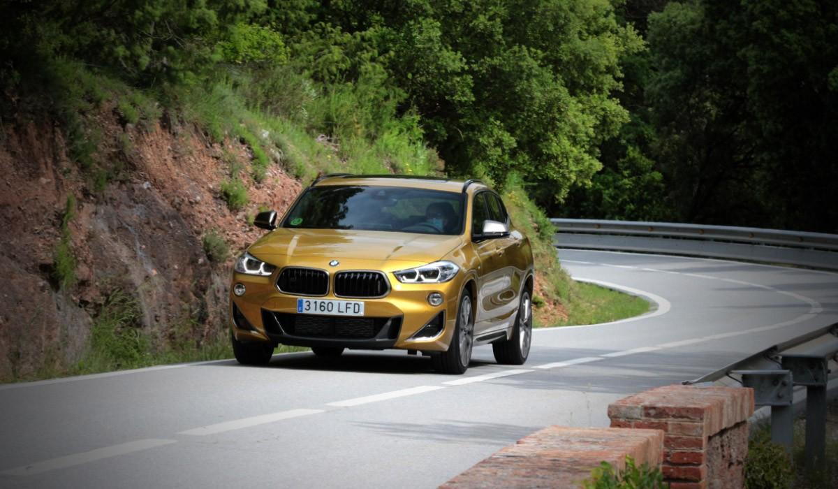 El BMW X2 també queda marcat per M Performance