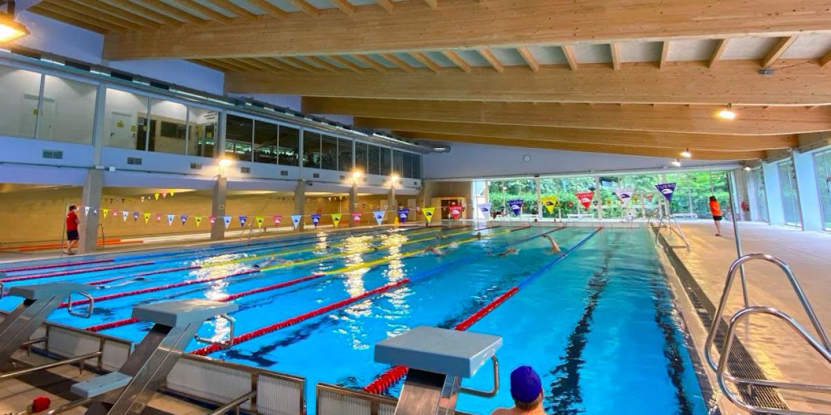 La piscina principal del CNOlot.