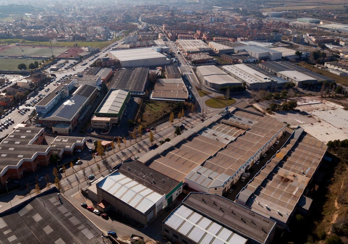 Imatge dels polígons industrials de Rubí