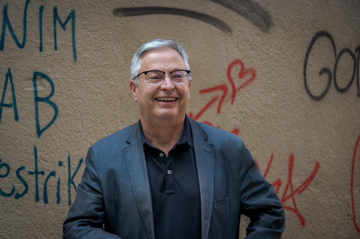 Miquel Tuneu, autor d'«Homenets»
