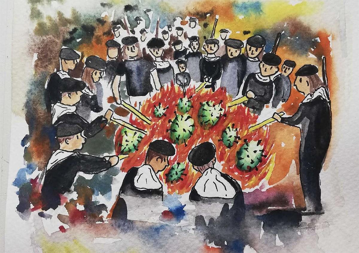 El cartell d'enguany de les Festes de Sant Joan i els Elois