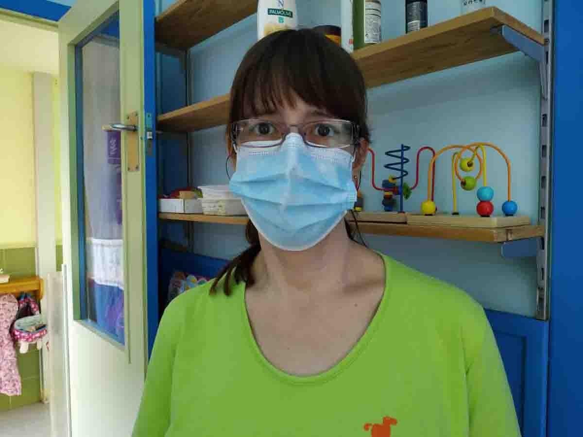 Ester Obiols, directora de l'Escola Bressol Municipal Avet Blau de Vallgorguina