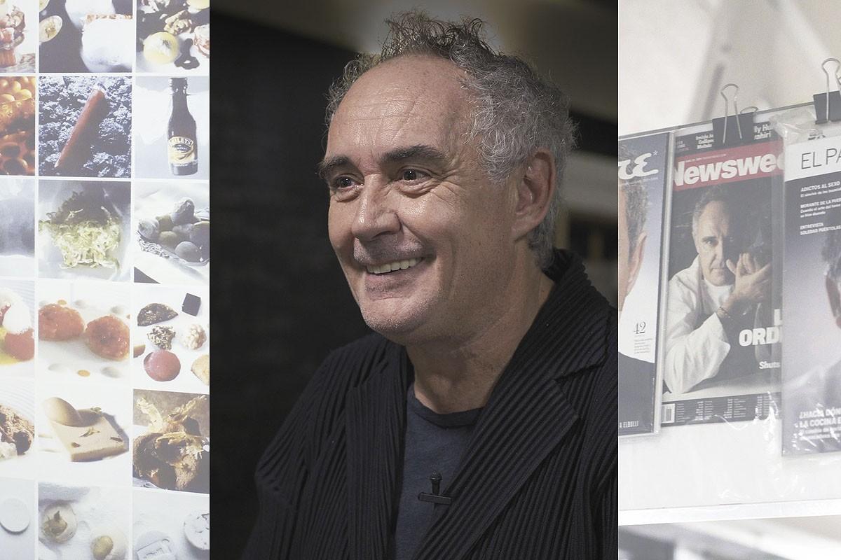 Ferran Adrià reflexiona sobre la innovació