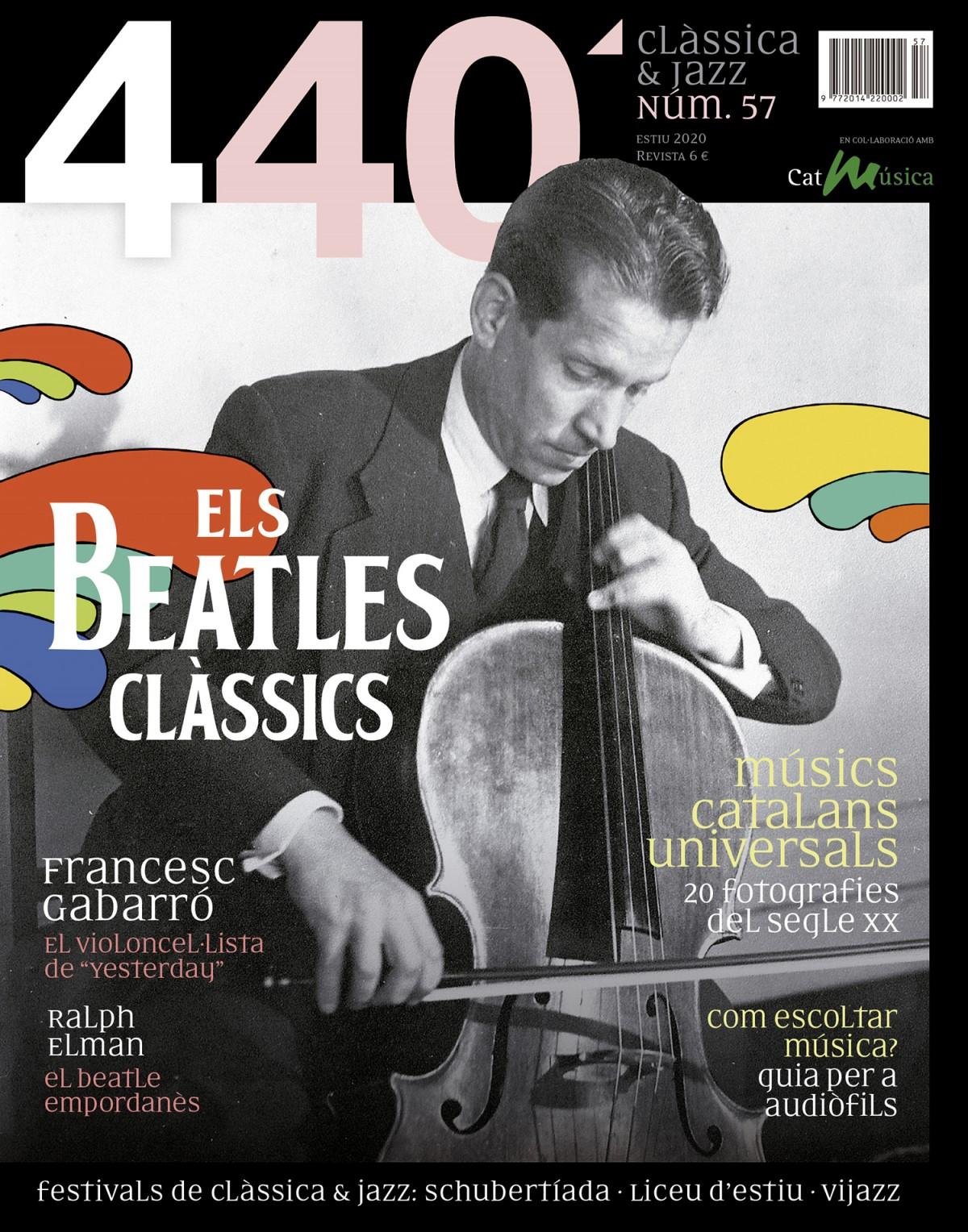 Portada de 440Clàssica&Jazz núm. 57