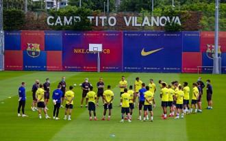 Cinc jugadors del Barça han passat el coronavirus