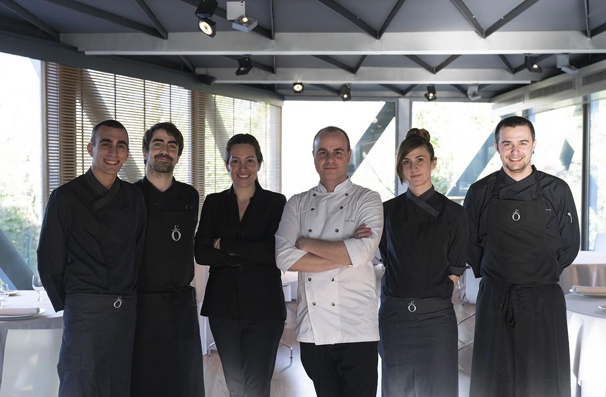 Tot l'equip del restaurant l'Ó