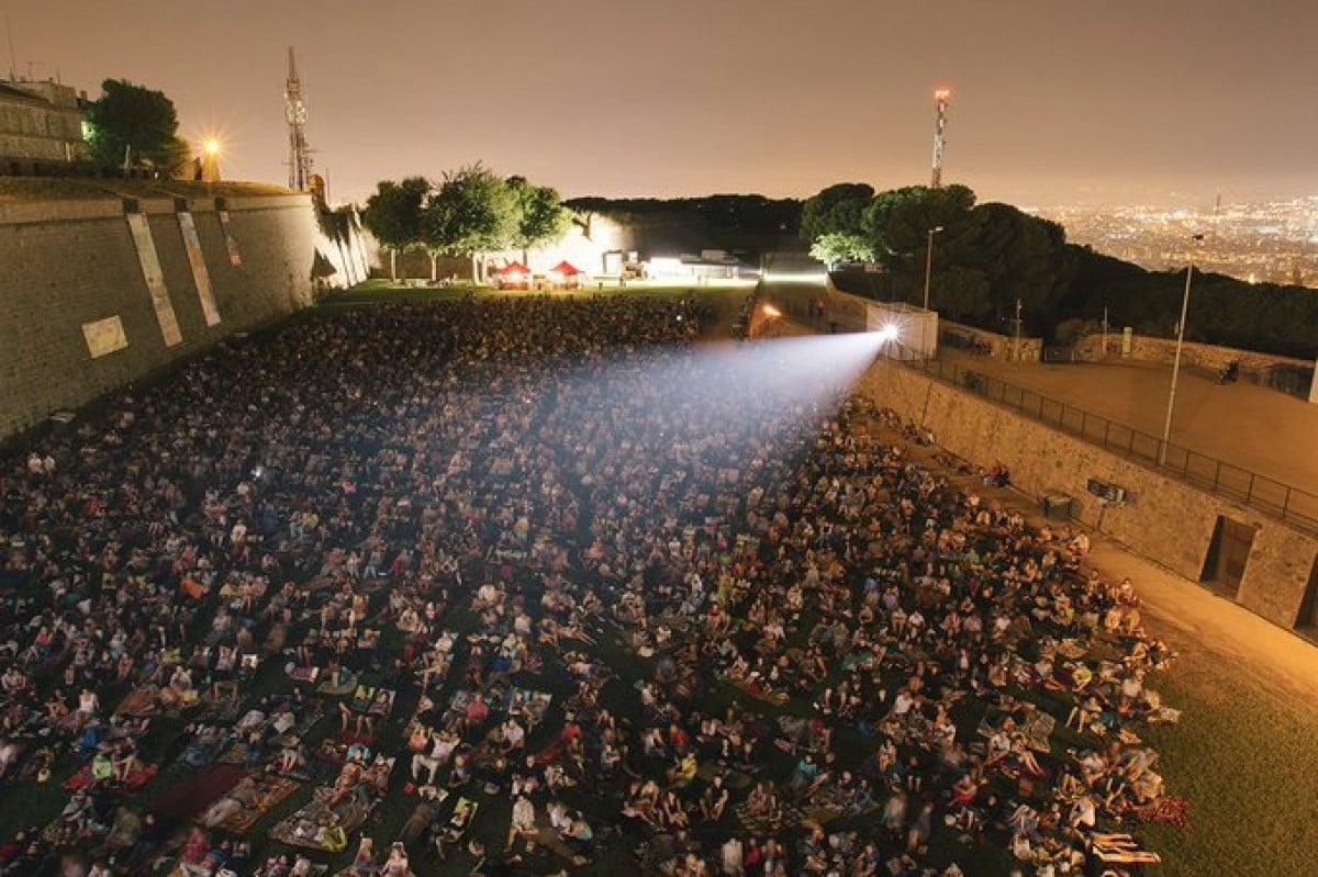 El cinema a la fresca de Montjuïc en edicions anteriors