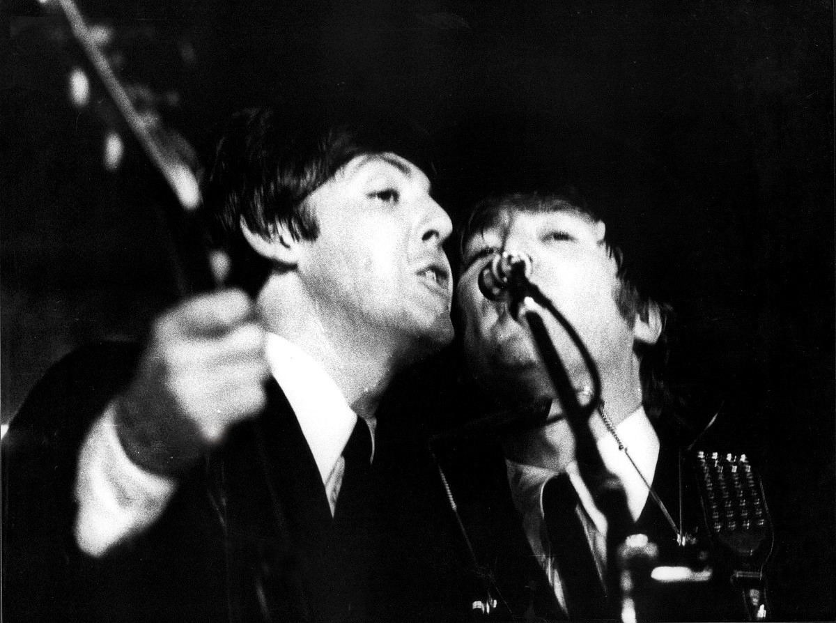 Paul McCartney i John Lennon a La Monumental
