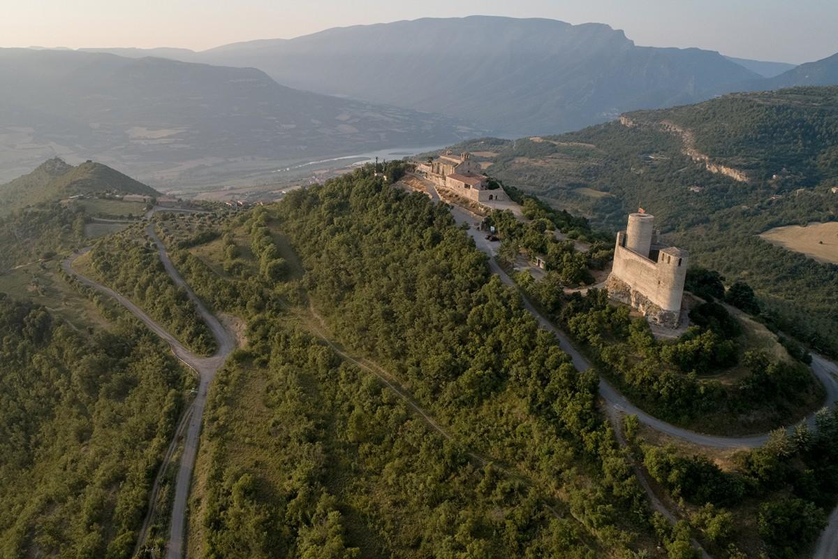 El Castell de Mur i la Col·legiata de Santa Maria