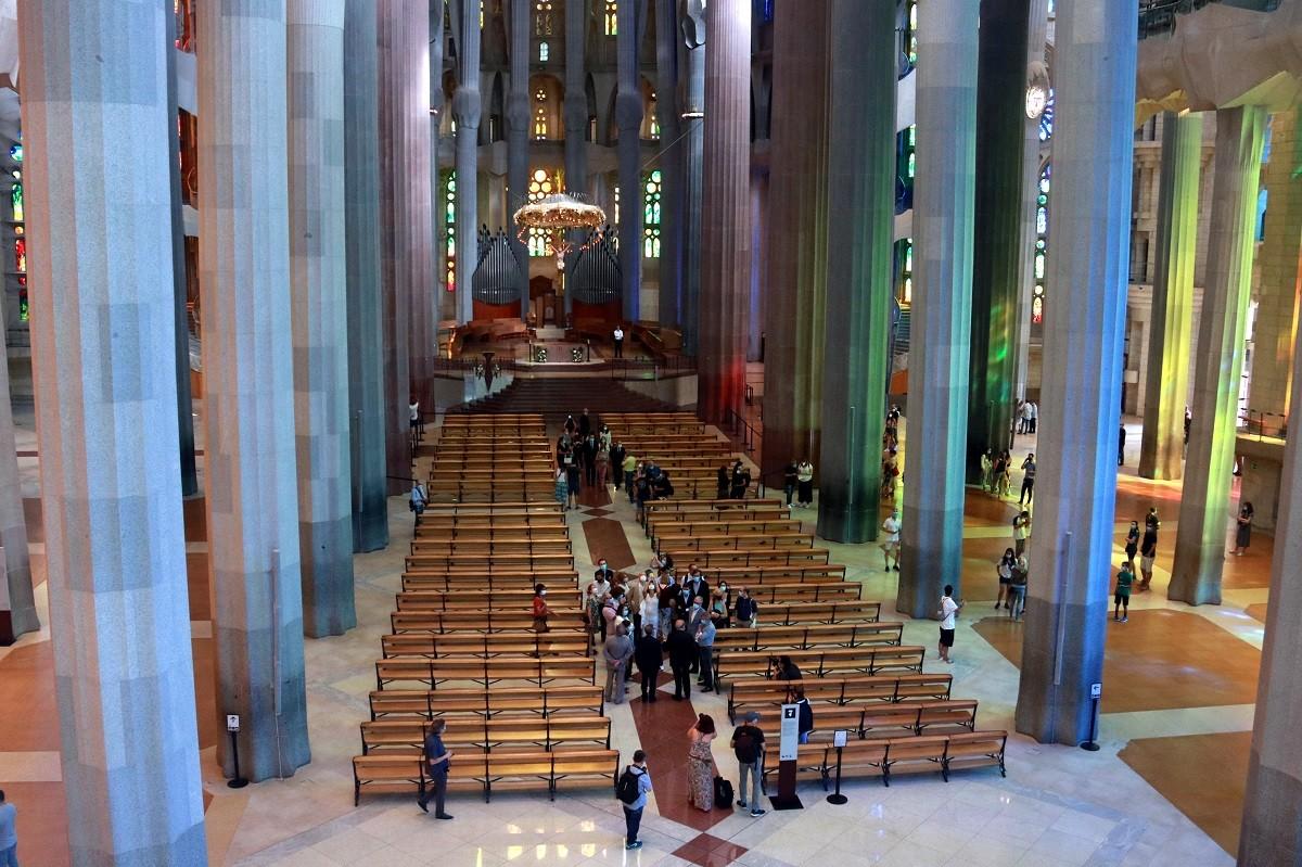 La Sagrada Família reobre les portes després de 114 dies.