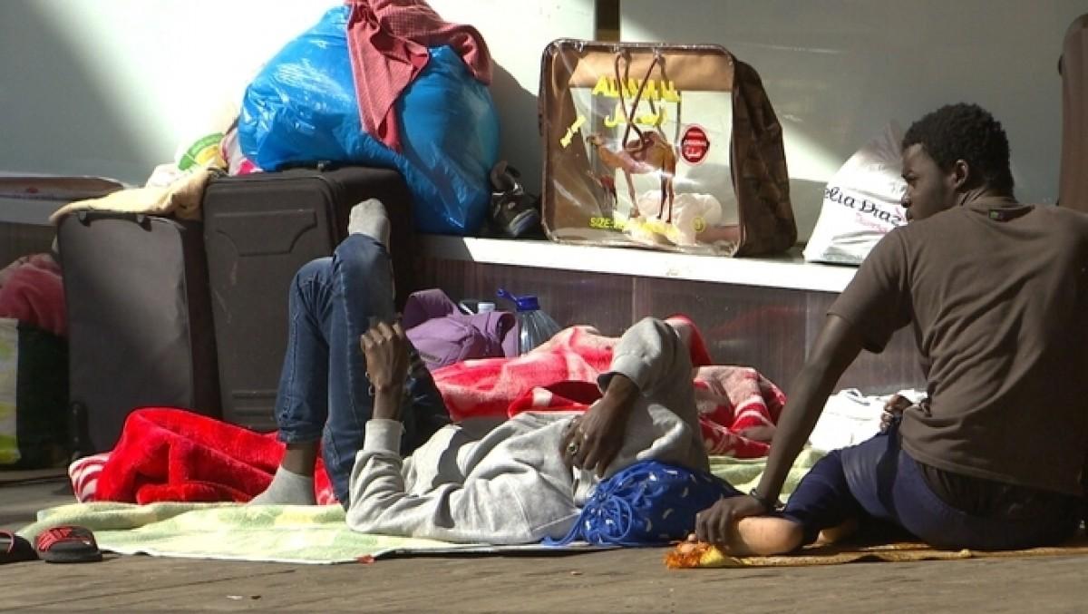 Immigrants pels carrers de Lleida