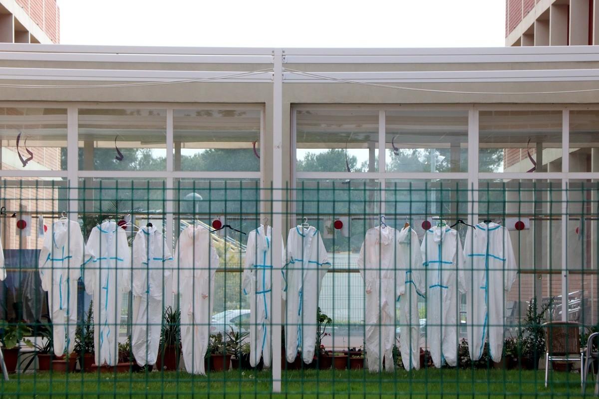 Vestits protectors estesos a la Residència Nostrallar dels Pallaresos