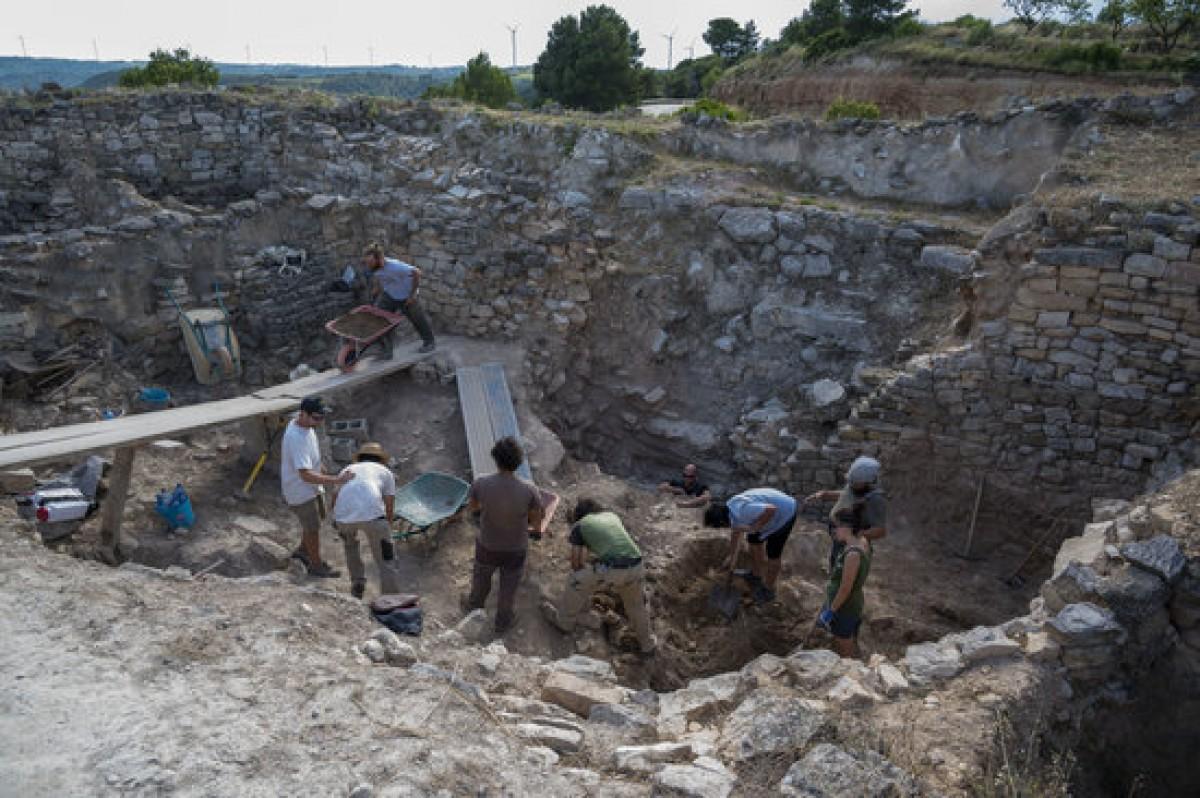 Treballs de les excavacions