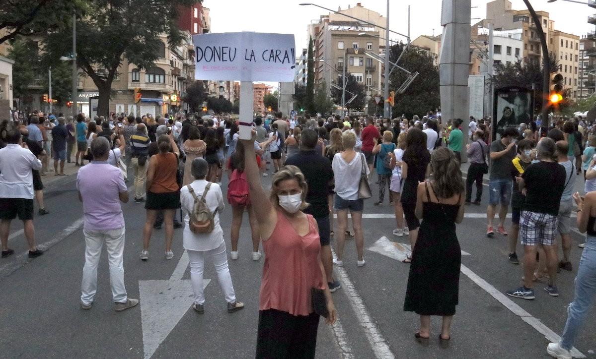 Manifestació aquest diumenge a Lleida contra l'enduriment del confinament
