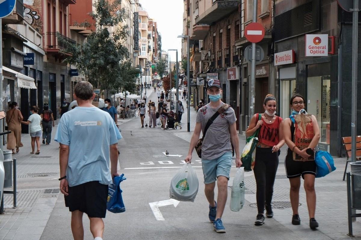 El coronavirus colpeja els barris més densos de l'Hospitalet de Llobregat