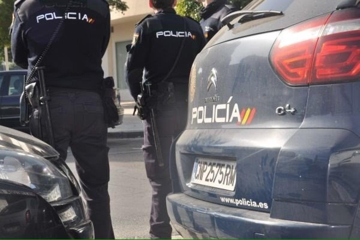 Un cotxe de la policia espanyola, en una imatge d'arxiu
