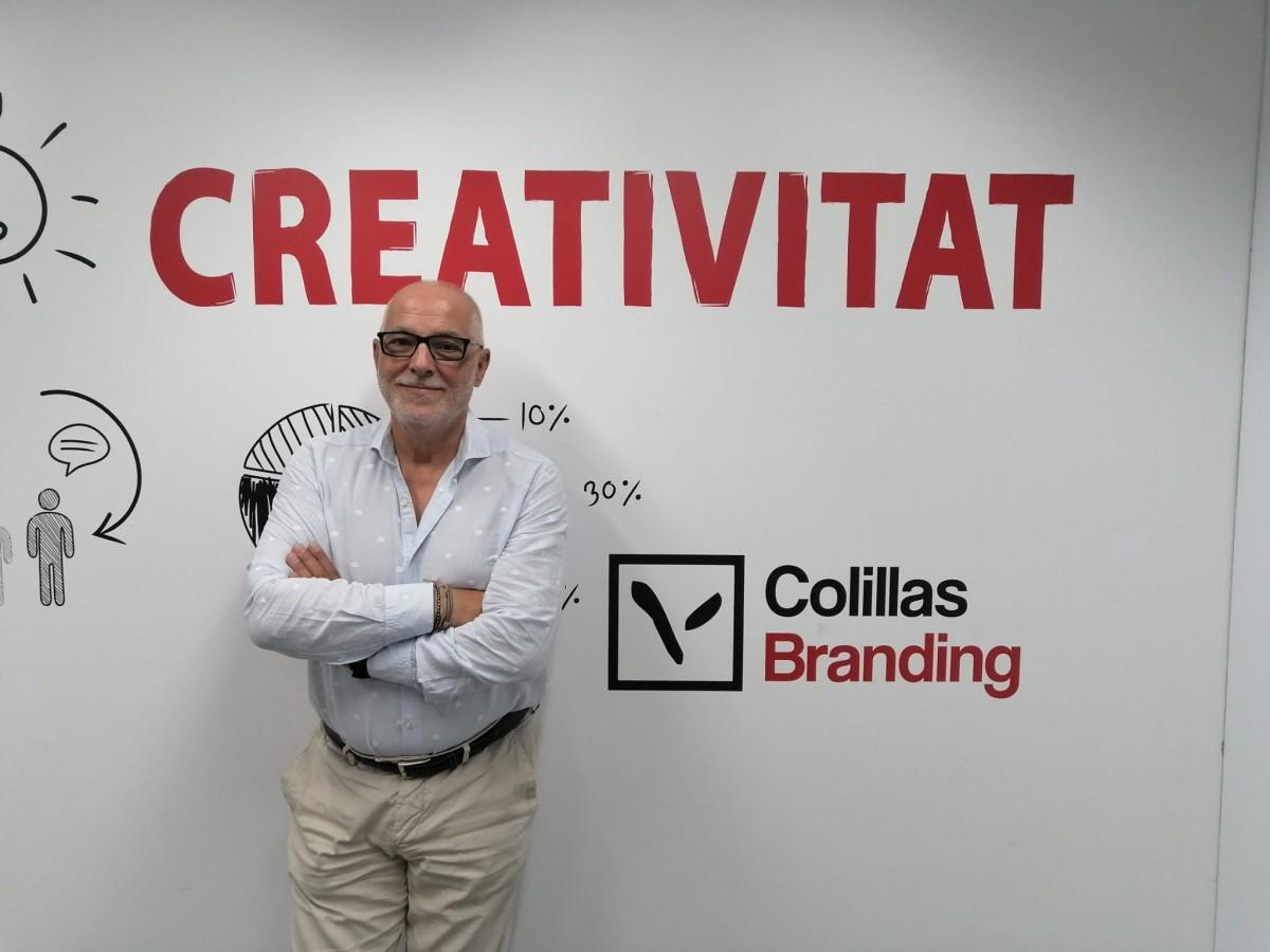 El CEO i fundador de Colillas Branding, Miguel Ángel López Colillas