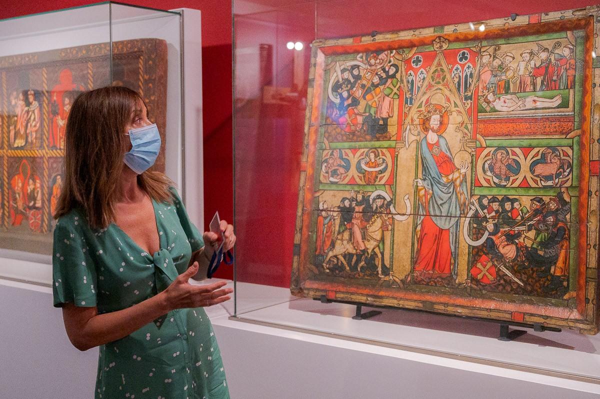 Judit Verdaguer és una de les comissaris de l'exposició «Nord&Sud» al Museu Episcopal de Vic