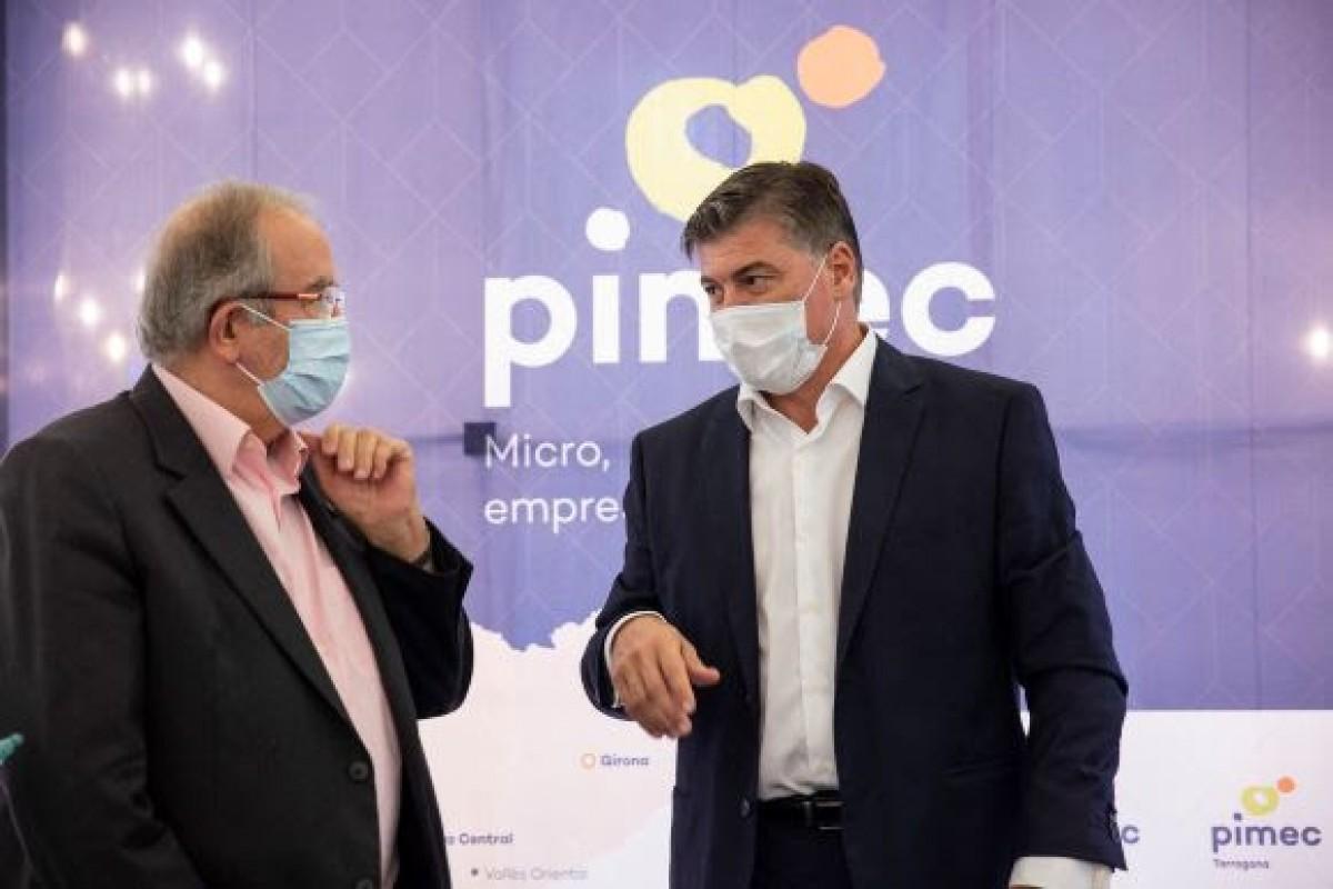 Josep González i Antoni Cañete, aquesta tarda.
