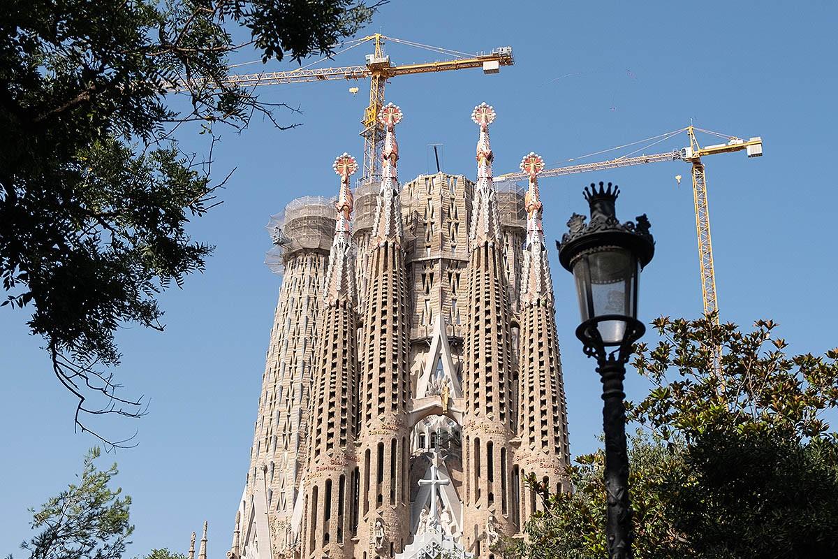 La Sagrada Família podria patir nous retards en la construcció.