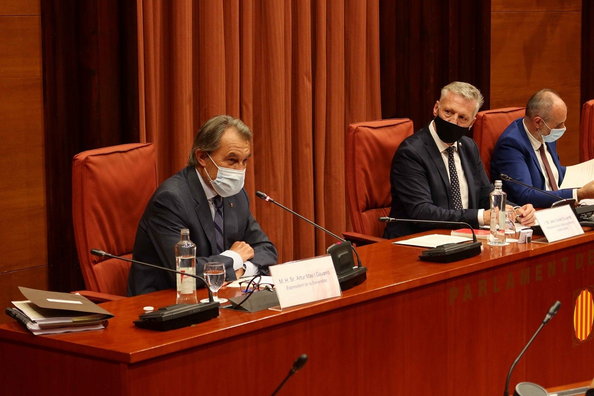 Artur Mas, aquest dijous al Parlament.